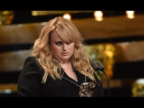 Rebel Wilson presenting Best Supporting Actor tonight at the BAFTA Awards
