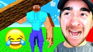 Impossible YOU LAUGH = DELETE MINECRAFT Challenge!