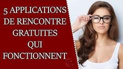 5 applications de rencontre GRATUITES qui FONCTIONNENT