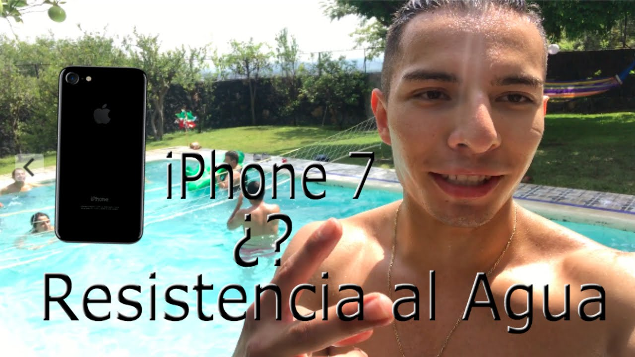 iPhone 7 Resistencia al Agua?? #iPhone7 #Apple - YouTube