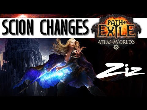 Path of Exile: Massive Scion Changes for Beta / 3.0!