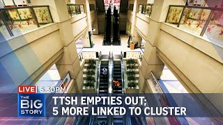 5 new Covid-19 infections linked to TTSH cluster; 40 cases so far | THE BIG STORY