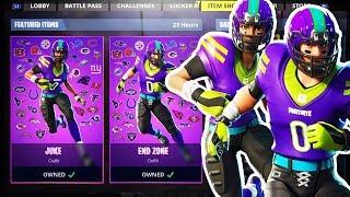 NFL SKINS ARE BACK - Fortnite Item Shop COUNTDOWN Today [February 1] (Fortnite Battle Royale LIVE)