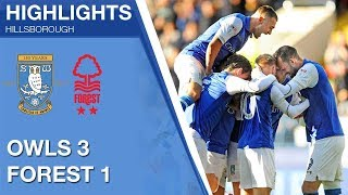 Sheffield Wednesday 3 Nottingham Forest 1 | Extended highlights | 2017/18