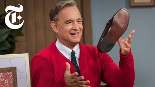 Watch Tom Hanks as Mister Rogers in A Beautiful Day in the Neighborhood  Anatomy of a Scene