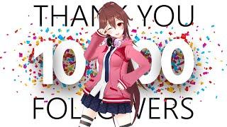 【フォロワー様10000人記念!!】お祝いと、皆に伝えたいことがあるんだ…!!【いつもありがとう】