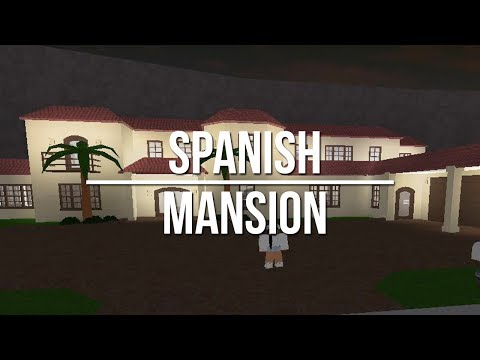 ROBLOX | Welcome to Bloxburg: Spanish-Style Mansion
