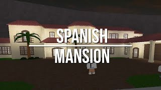 ROBLOX | Welcome to Bloxburg: Spanish-Style Mansion 109k