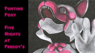 Speed Drawing - Funtime Foxy (FNaF Sister Location)