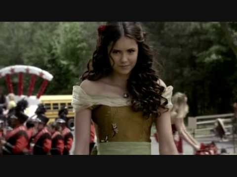 Vampire Diaries - Here With Me by Dido - Elena, Stefen n Damon (Love Triangle)