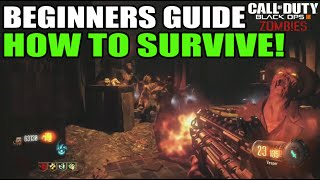 Shadow of Evil Beginners Guide: How To Survive at Zombies! (Black Ops 3) High Round Strategy