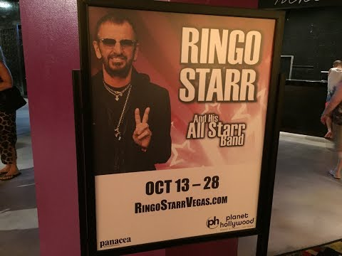 Ringo Starr with his All Starr Band October 13 - 2017 Las Vegas