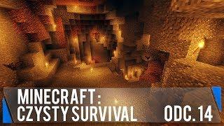 MEGAJASKINIA pod domem (Minecraft: Czysty survival #14)