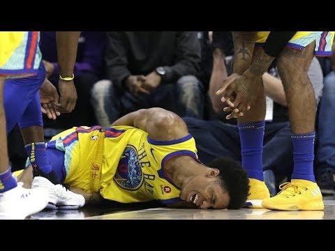The WORST NBA Injuries 2017-2018 (GOOSEBUMPS WARNING)