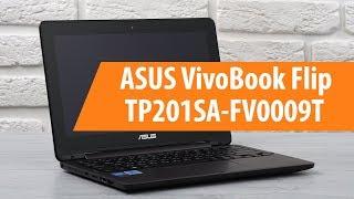 распаковка ASUS VivoBook Flip TP201SA-FV0009T / Unboxing ASUS VivoBook Flip TP201SA-FV0009T