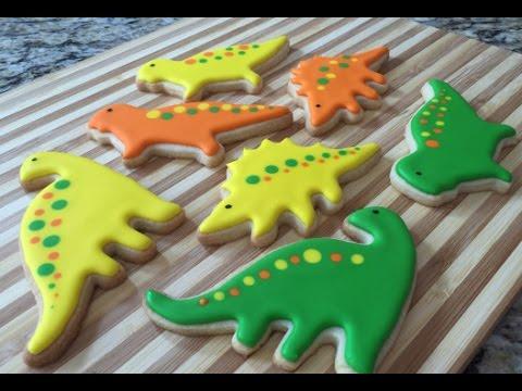 Cookies Dinosaur Cake