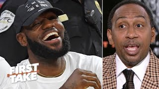 Stephen A. gives LeBron and Draymond props for speaking up for student-athletes   First Take