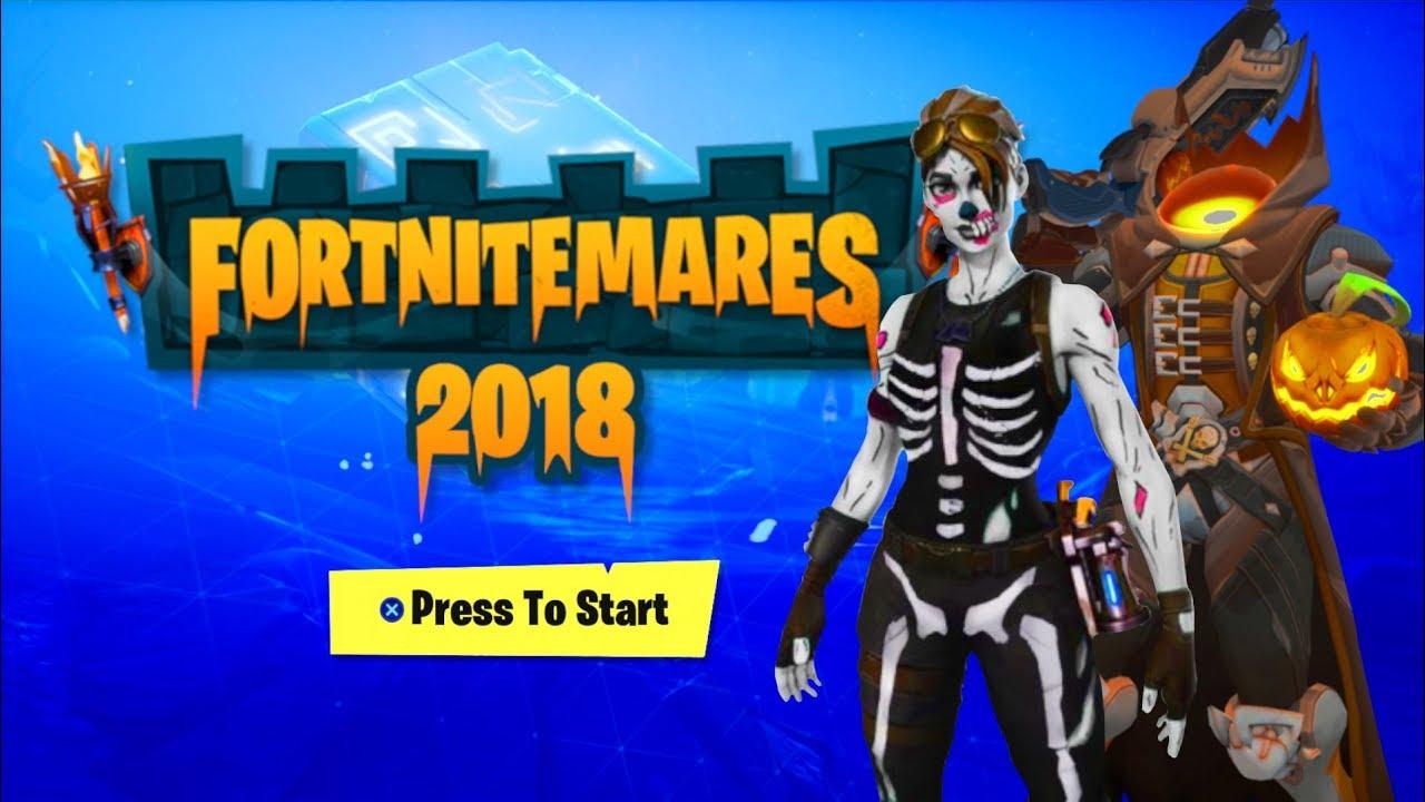 Halloween Skins Fortnite 2018.All 7 New Halloween Skins In Fortnite 2018 Fortnitemares Skins Leaked Skull Trooper 2018 Return