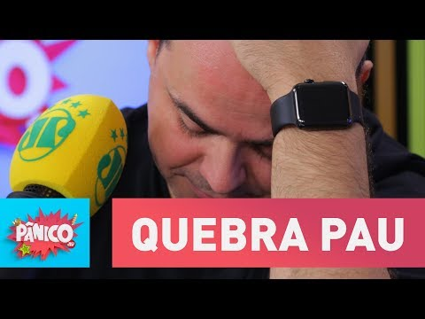 """Eita! Amanda e Carioca """"quebram o pau"""" ao vivo"""