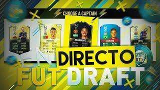 ¡¡¡FUT DRAFT EN DIRECTO!!! - TEMPORADAS FUT CHAMPIONS EN DIRECTO - FIFA 17