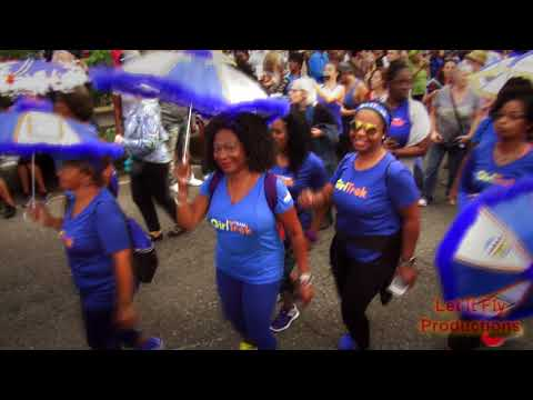 """""""Fats"""" Domino Tribute Second Line from Vaughn's 11 1 2017"""