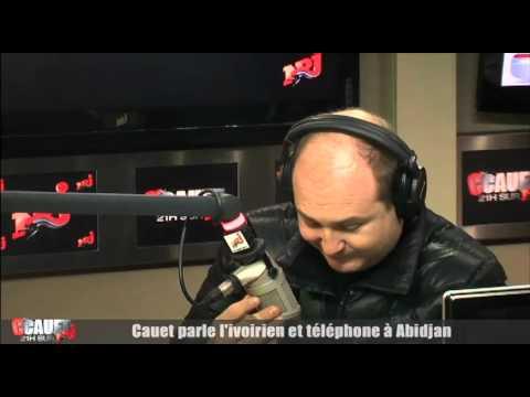 Cauet parle l'ivoirien et téléphone à Abidjan - C'Cauet sur NRJ