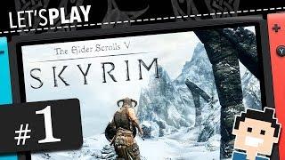Let's Play Skyrim (Switch) (deutsch) #1:Ein Hęld wird geboren...
