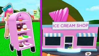 Roblox: OPENING THE RICHEST ICE CREAM BUSINESS IN ROBLOX!!!