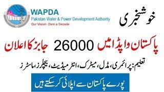 Pakistan Wapda Jobs 2019 Upcoming 26000 Jobs Govt Jobs Pakistan