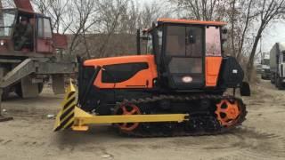 трактор гусеничный ВТГ-90 бульдозер