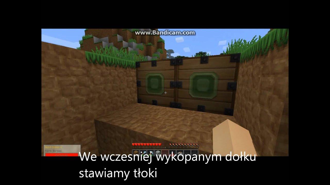Jak Zrobic Ukryte Schody Minecraft Youtube