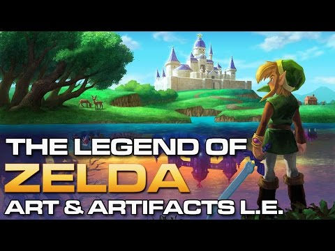 The Legend of Zelda Art and Artifacts (Limited Edition)