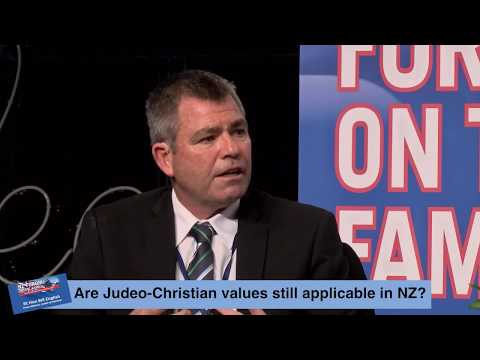 Forum on the Family 2017 - Bill English PM on NZ's Judeo-Christian values