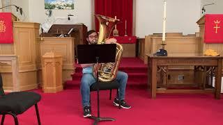 God Bless America   Tuba