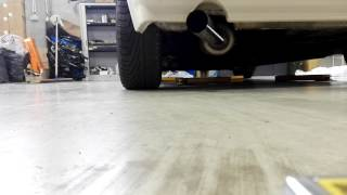 Silencieux supersprint sur moteur RE golf 1 cabriolet partie 2
