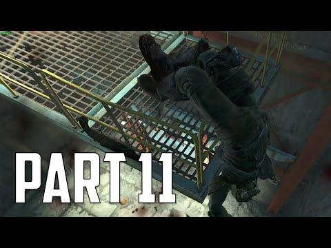 "Fallout 4 Walkthrough - Part 11 ""CORVEGA ASSEMBLY PLANT"" (Let's Play, Playthrough)"