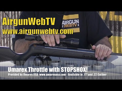 Umarex Throttle with STOPSHOX Anti Recoil System! - First Look from AirgunWebTV