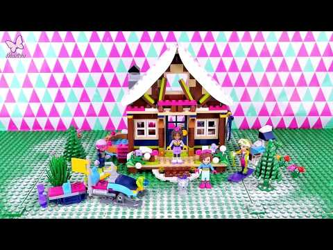 Winter Resort Chalet Lego Friends 41323 Review Build Fun And Play