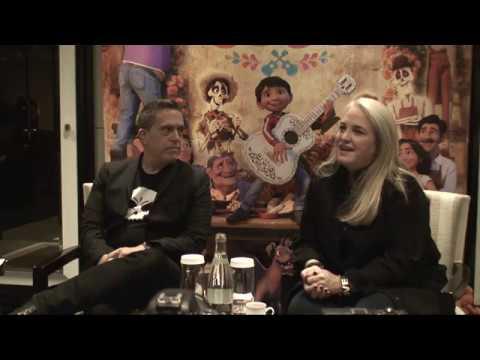 Coco - Paris Press Conference Lee Unkrich (director) And Darla Anderson  (producer)