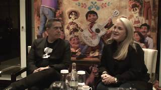 Coco - Paris Press Conference Lee Unkrich (director) And Darla Anderson  (producer)