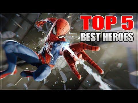 Top 5 Best Heroes In Marvel Super War