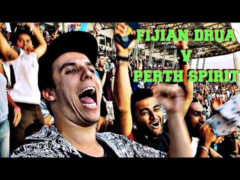 FIJIANS ARE CRAZY! | Fijian Drua v Perth Spirit | Game Day Experience | Vlog