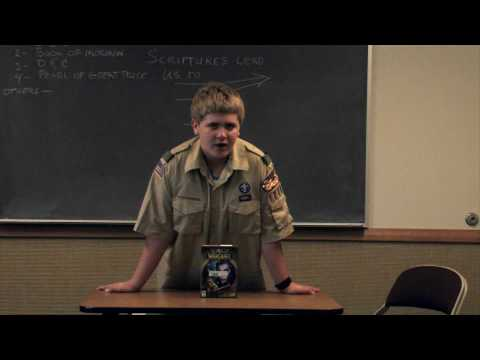 Communications Merit Badge: Troop 1205 Klye Eddleman