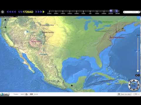 The history of North America from 1300AD to today