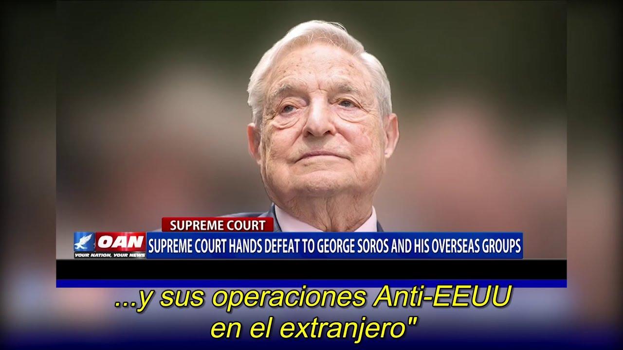 Condena para retirar fondos a Soros