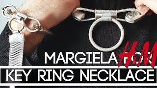 Margiela for H&M: Enlarged Keychain Necklace