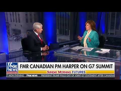 STEPHEN HARPER FULL ONE-ON-ONE INTERVIEW WITH MARIA BARTIROMO (6/10/2018)