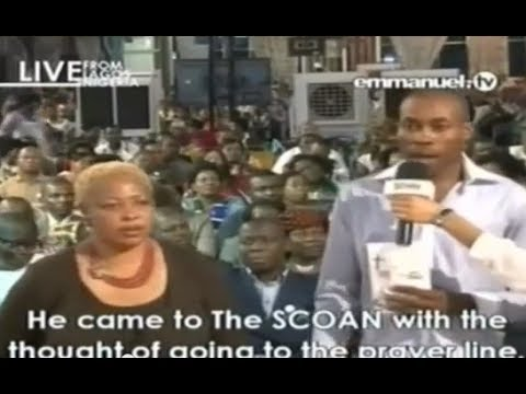 "SCOAN 22/06/14: God Is In The Anointing Water ""Fractured Dead Bone Healing Testimony"" Emmanuel TV"
