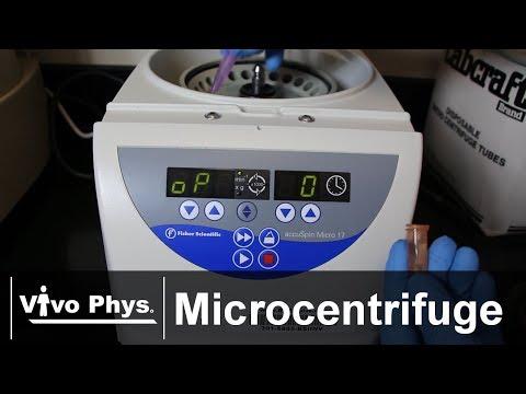Microcentrifuge