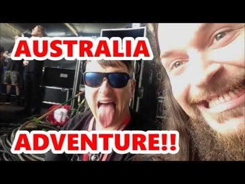 AUSTRALIA ADVENTURE WITH KORN!! DOWNLOAD FESTIVAL | Scottsquatch